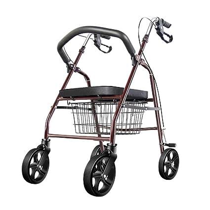 Sxrl Girello Pieghevole Per Anziani Rollator In Alluminio