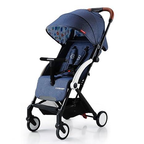 Baby Push Ultralight Puede Sentarse/mentir Carro de bebé ...