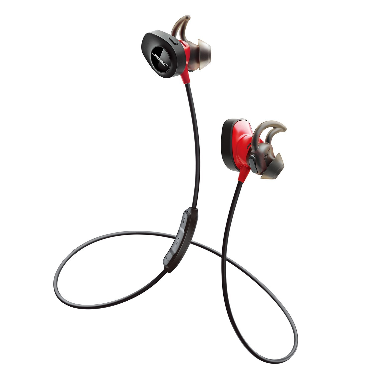 a0bb5f5b14b Amazon.com: Bose SoundSport Pulse Wireless Headphones, Power Red (With  Heartrate Monitor) (Certified Refurbished): Home Audio & Theater