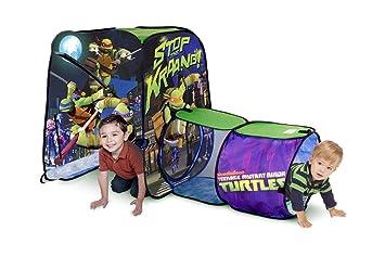 Playhut Teenage Mutant Ninja Turtles Adventure Hut Tent  sc 1 st  Amazon.com & Amazon.com: Playhut Teenage Mutant Ninja Turtles Adventure Hut ...