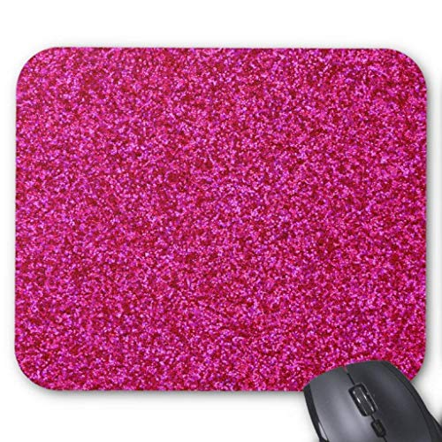 Wristband Hot Pink Glitter Mousepad Computer Accessories, used for sale  Delivered anywhere in USA
