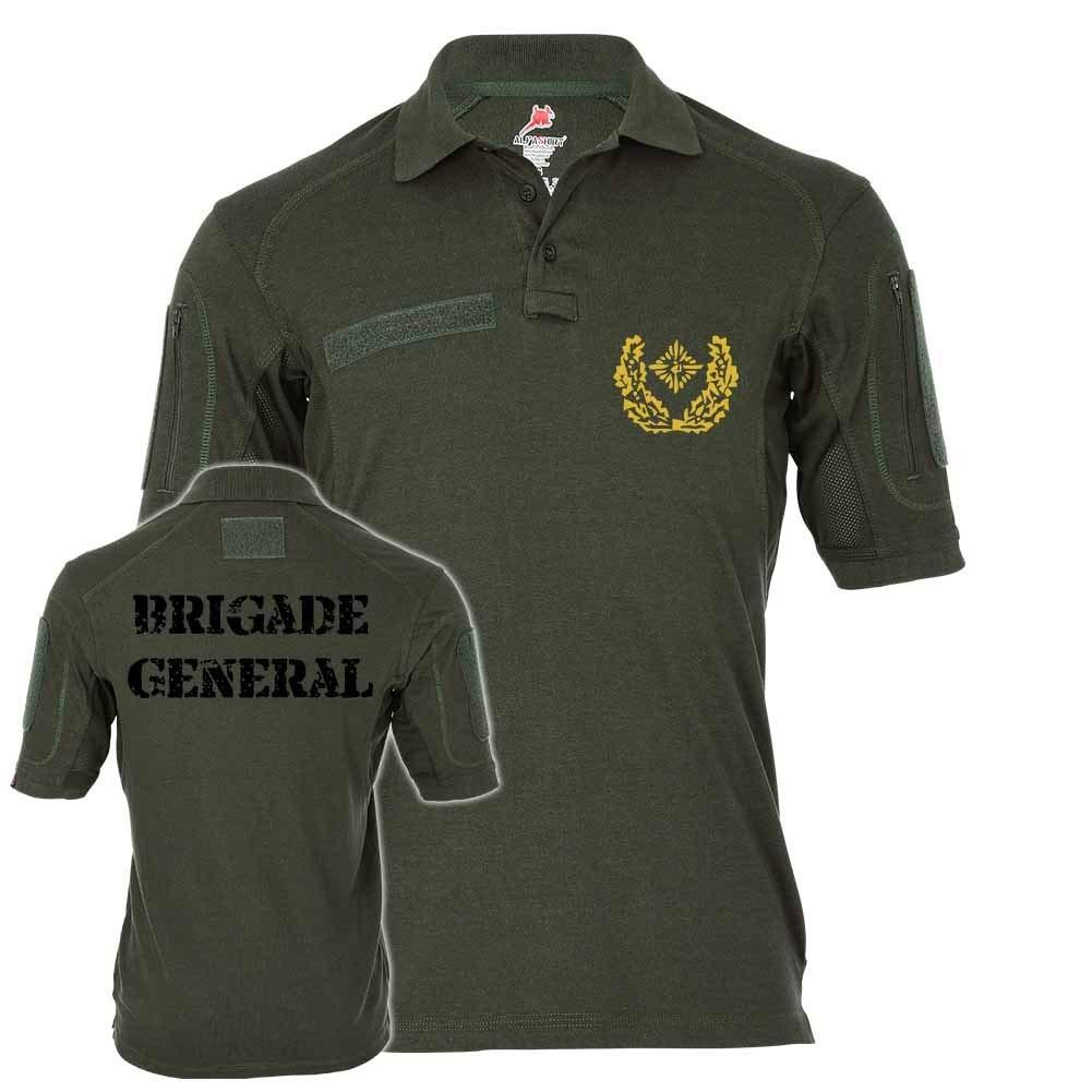 Copytec Tactical Poloshirt Alfa - Birgadegeneral Dienstgrad BW Schulterklappen Abzeichen Unteroffizier  19111