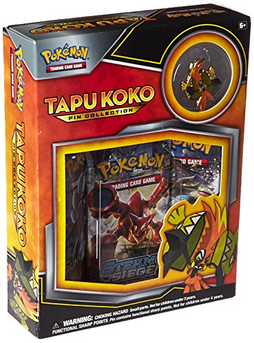 Foil Card Promo Pearl (Pokemon TCG Tapu Koko Pin Collection Card Game)