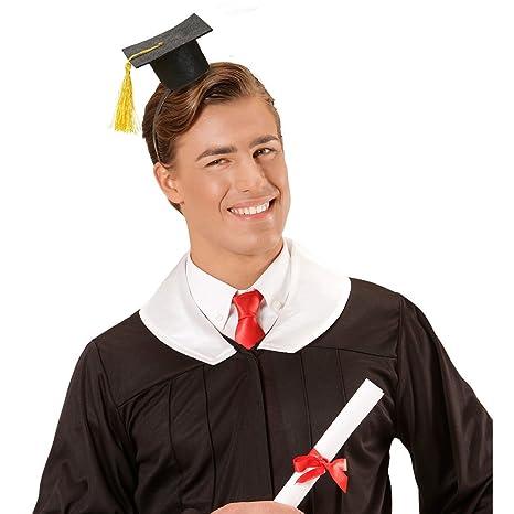 NET TOYS Tocco accademico diploma o laurea mini-tocco per conseguimento  titolo di studio accessorio 2668bf3c9fe3