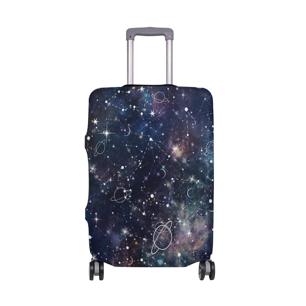 Baggage Covers Night Planet Star Galaxy Washable Protective Case