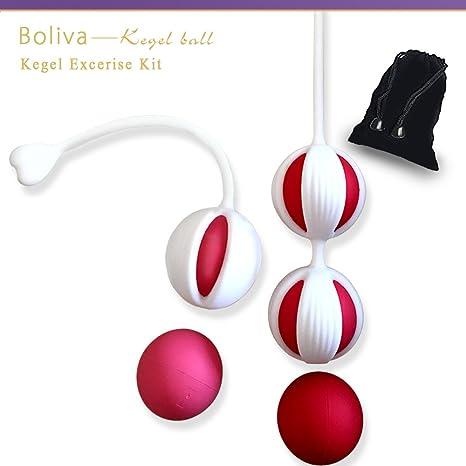 Boliva Cono pelota Kit suelo pélvico Ben WA Smart práctica pelotas ...