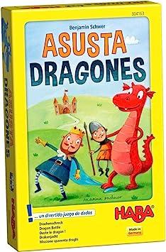 Haba- Juego de mesa, Asustadragones, Multicolor (Habermass H304163) , color/modelo surtido: Amazon.es: Juguetes y juegos