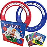 Activ Life Frisbee Rings for Kids [Red/Blue] Fun