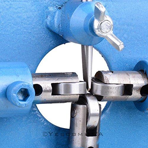 MegaBrand Manual Wire Stripper Cable Copper Stripping Machine Blue