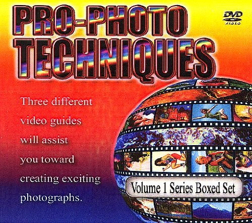 Pro Photo Techniques - Valume # 1 on DVD