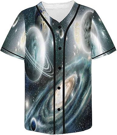 INTERESTPRINT Childs T-Shirt Solar System of Planets XS-XL