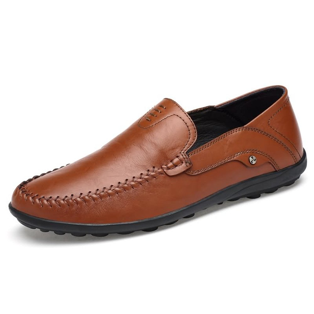 SCSY-Oxford-Schuhe Komfortable Herren Mokassins aus aus aus Leder im Hollywood-Stil  f818fd