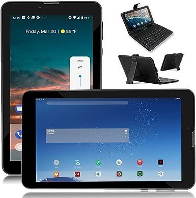 inDigi® 7 Pulgadas Mega Android 4.2 Smartphone Tablet PC con Funda ...