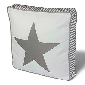 Matratzenkissen bodenkissen  Stern Star Sitzkissen,Dekokissen Auflage 45x45cm Sitzauflage 10 cm ...