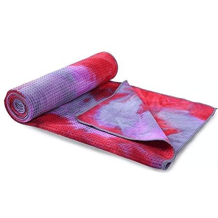 Estera Yoga Toalla de Tela de Yoga Antideslizante ...