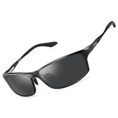 df3cea6498 SOXICK Men s Polarized Sunglasses Anti-Glare UV Protection Wayfarer Cycling  Driving Fishing Sun Glasses