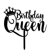 amazon karoo jan queen birthday cake topper gold glitter happy The Most Amazing Birthday Cakes queen birthday cake topper black happy birthday cake topper 16th 18th 21st