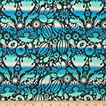 Anna Maria Horner Honor Roll Single File Ocean Fabric By The Yard