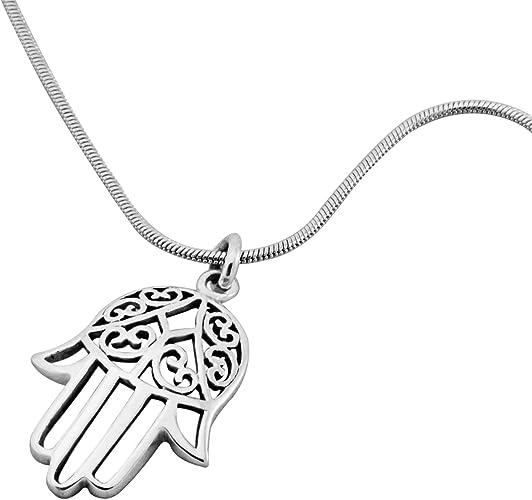 De 1 A 15 Colgante Acero Inoxidable MANO FATIMA simbolo collar colgantes actual