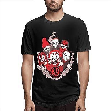 Insane Clown Posse Mens T-Shirt Short Sleeve Casual Tee Poloshirts Cotton Tops