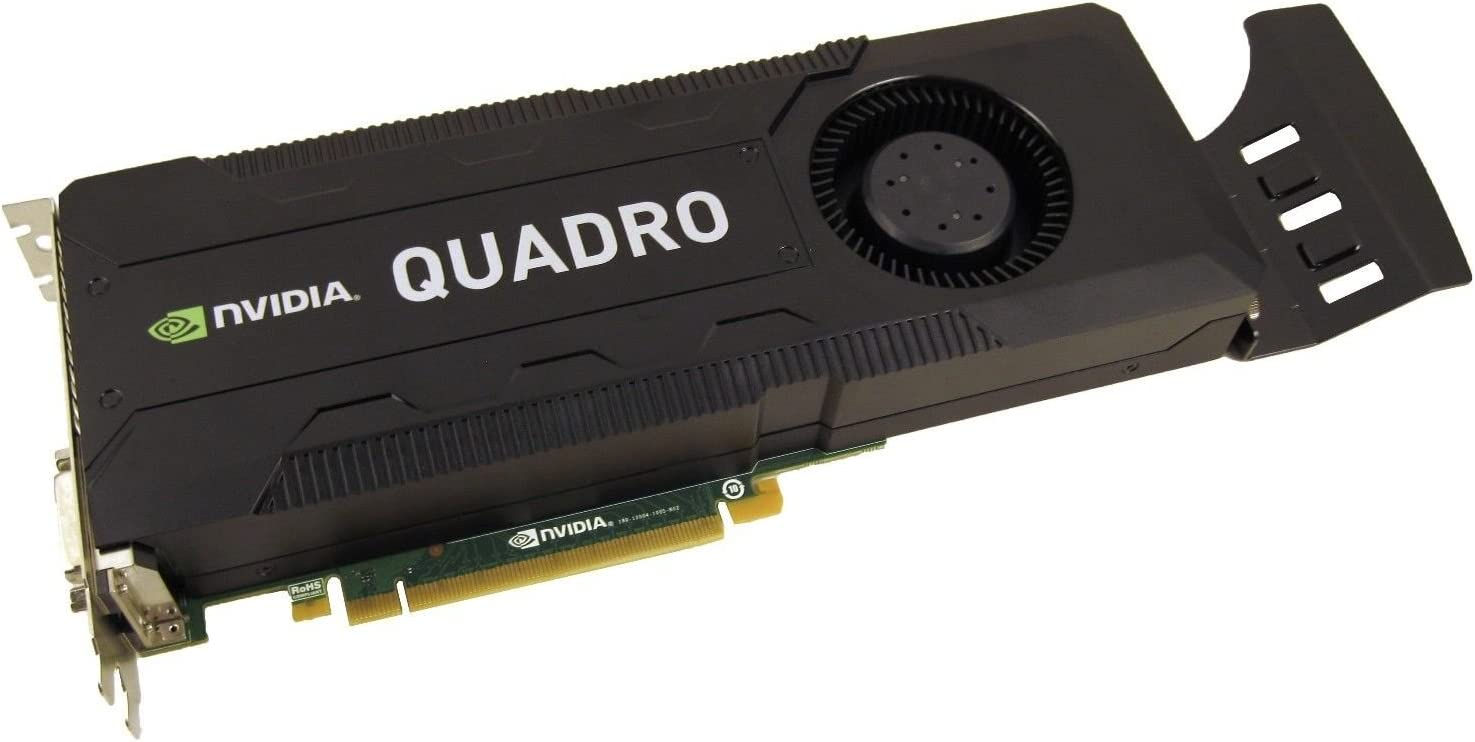 NVIDIA Quadro K5000 4GB GDDR5 PCI-E 2.0 x16 Video Card With Dispalyport and DVI Outputs