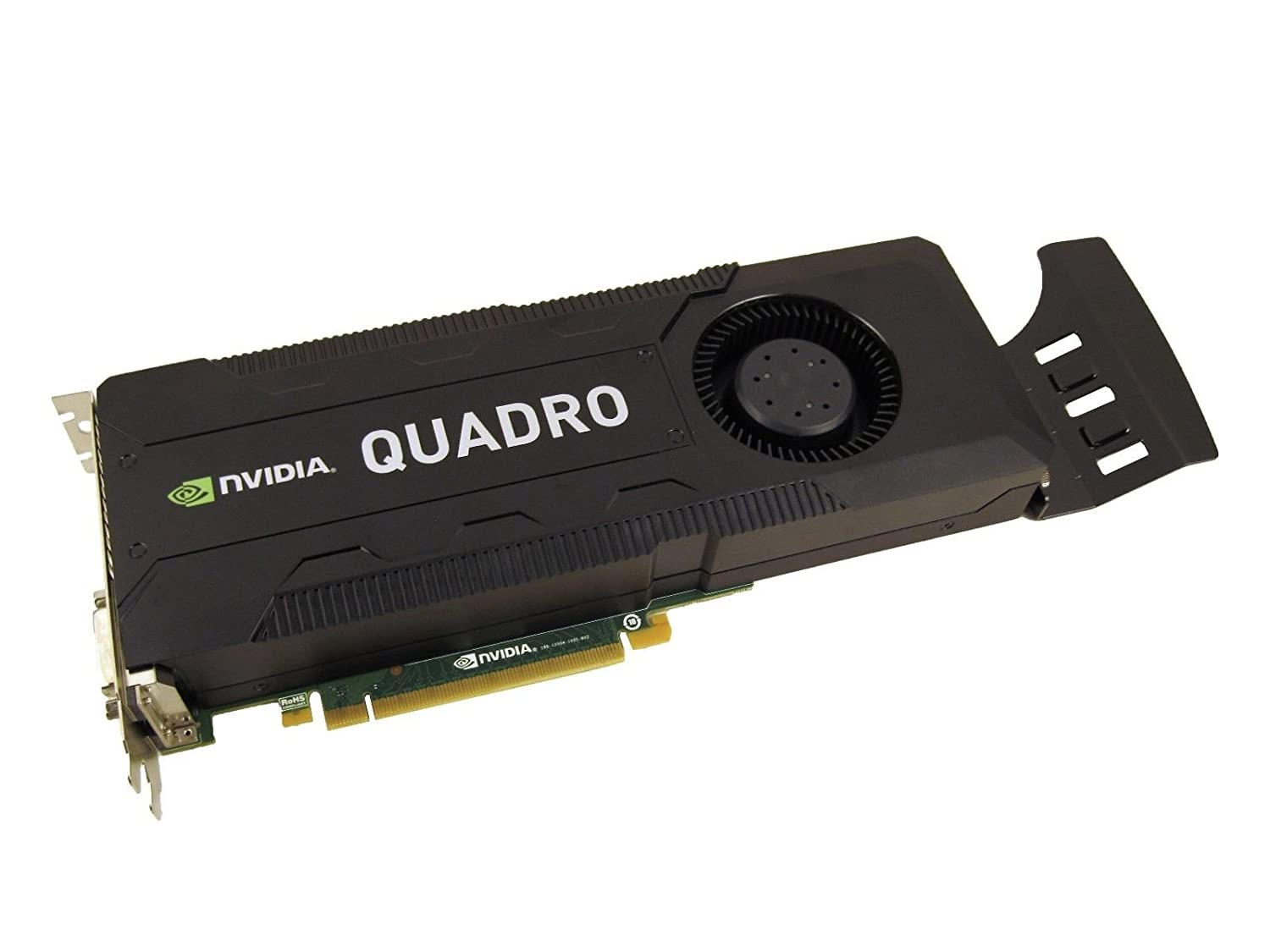 NVIDIA Quadro K5000 4GB GDDR5 PCI-E 2 0 x16 Video Card With Dispalyport and  DVI Outputs