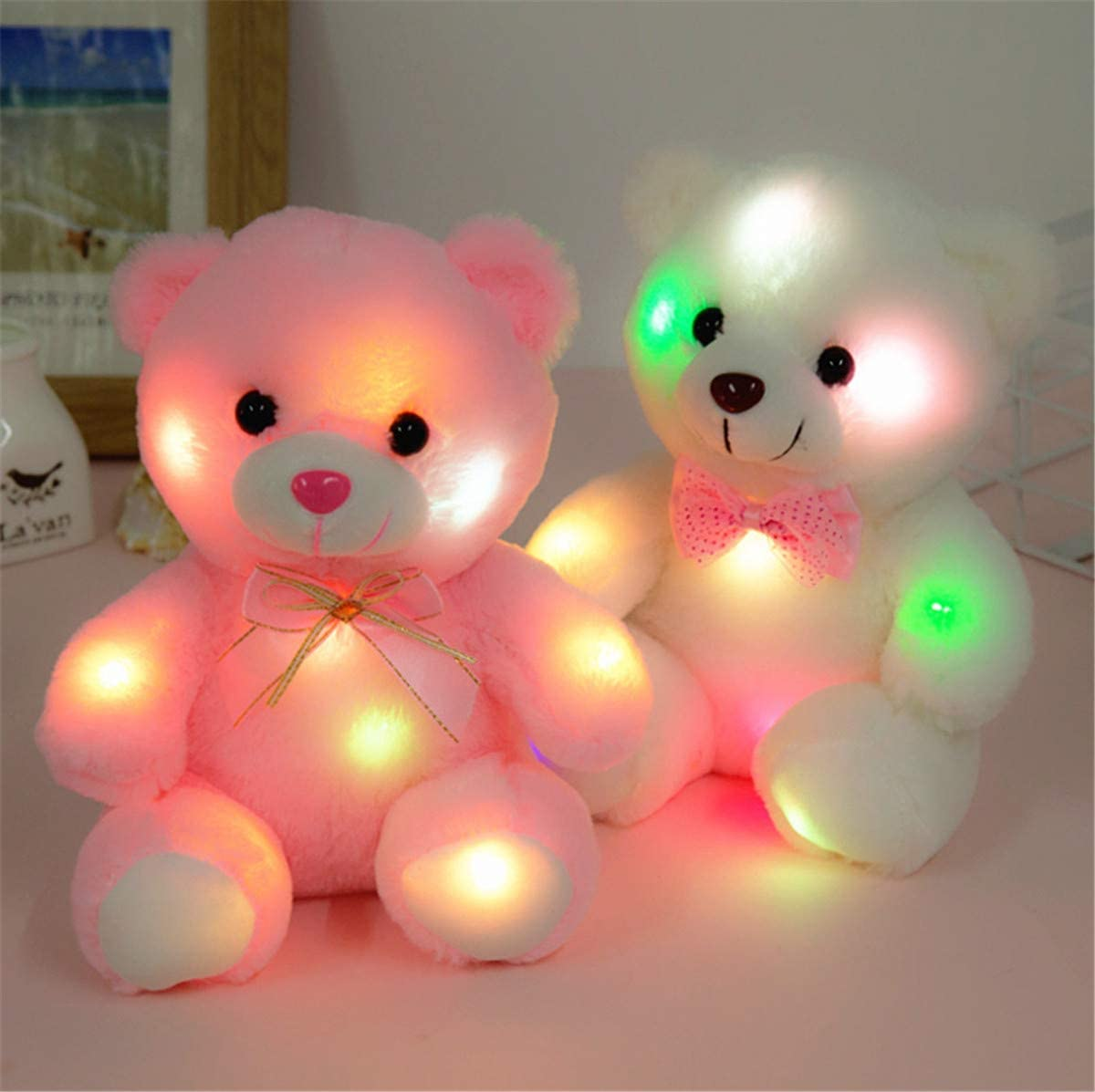 Valentine's Day Glow Teddy Bear