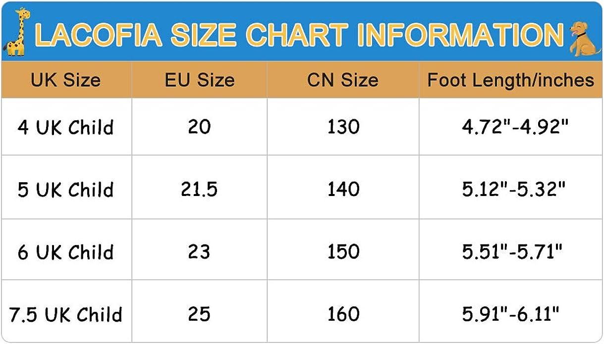 LACOFIA Baskets b/éb/é gar/çon Chaussures Premiers Pas Oxford /à Lacets pour b/éb/é