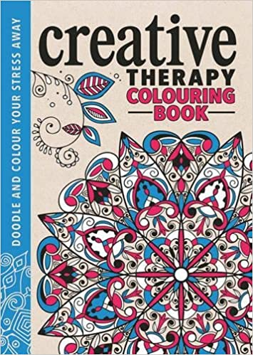 the creative therapy colouring book creative colouring for grown ups amazoncouk hannah davies richard merritt jo taylor 9781782433002 books