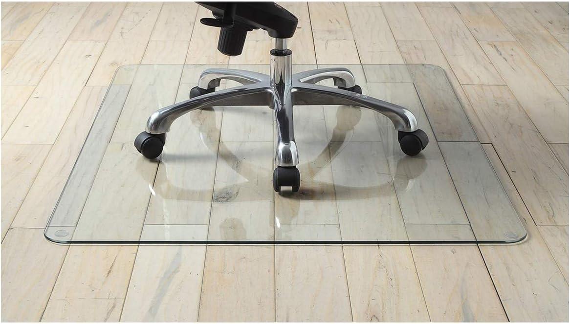 "Premium Tempered Glass Chair Mat, 36"" x 46"" (1)"