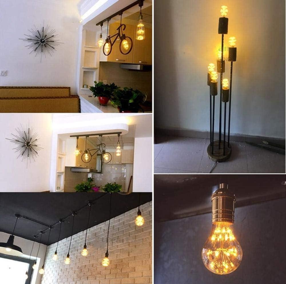 Glühbirneled Birne,2 Pcs 220V-240V E27 Vintage Retro Edison Led-Glühbirne 4W St64 / A19 / G80 Innenleuchte Nachtbirnen Weihnachtsgeschenke (Bm35)-Modell W E27 Modell L E27