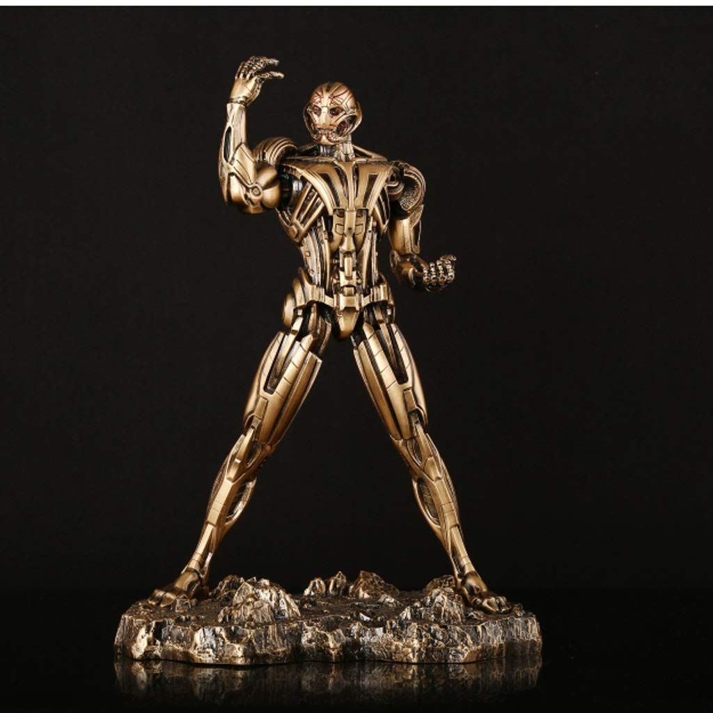 KGMYGS Avengers 2 era de la era austriaca Anti-Ao Chuang Iron Man Estatua Anime Decoraciones Altas 290 mm