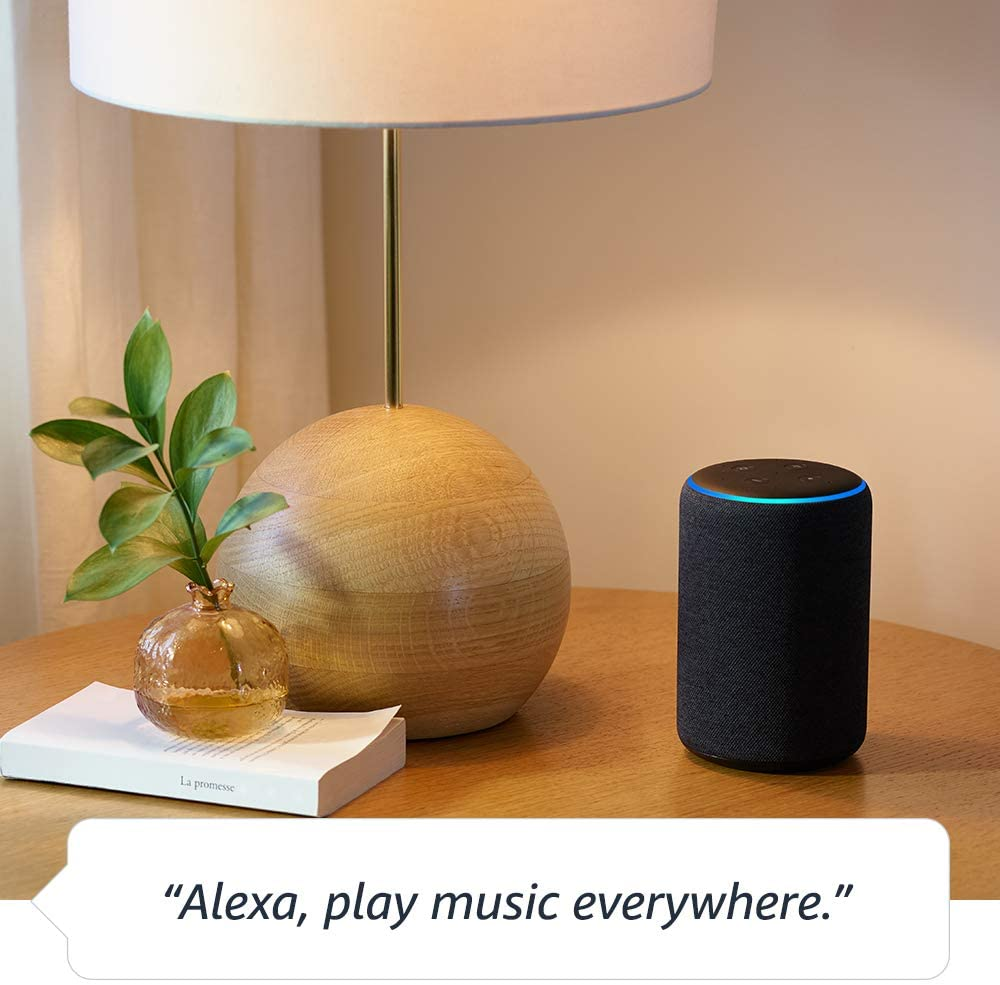Echo Plus – Premium sound with built-in smart home hub