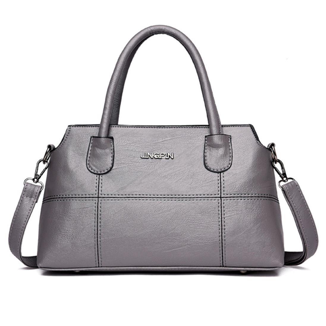 Logobeing Bolsos Mujer Baratos Bolso de Cuero Bolso Bandolera Crossbody Tote Bag Oferta Bolso Mujer (A): Amazon.es: Zapatos y complementos