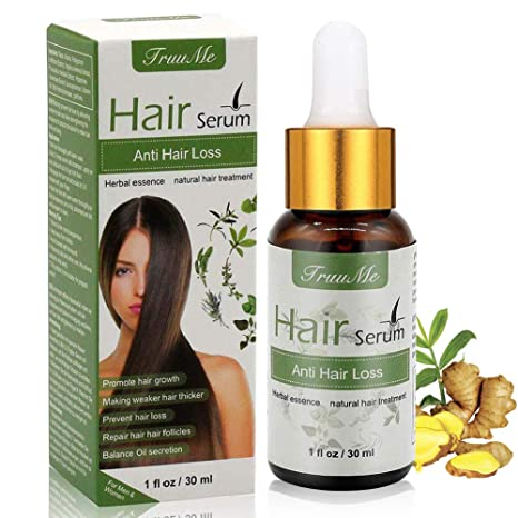 Amazon Com Hair Growth Serum Hair Loss Serum Hair Regrowth Oil Stops Hair Loss For Thinning Hair Alopecia Areata Promotes Thicker Fuller Faster Growing Beauty