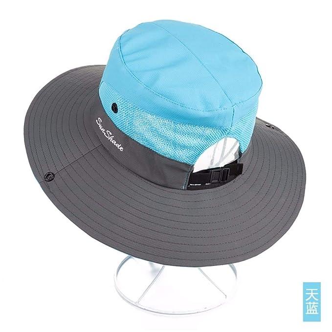 Gorra De Ciclismo para Mujer Sombrero De Verano Visera Sencillos Al Aire Libre Plegable Sombrero De Fisher Sombrero De Playa Gorra para Ciclismo Gorra De ...