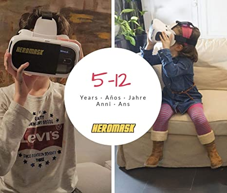 Gafas Realidad Virtual Niños + Juego Educativo Idiomas ...