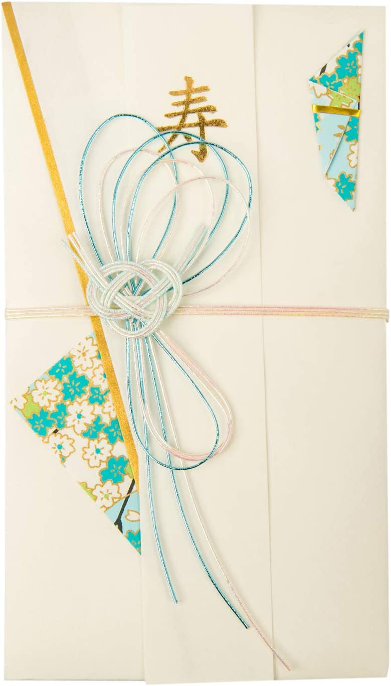 Blue Knot Japanese Envelope Card