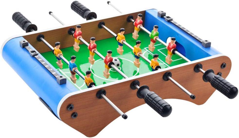 ZHJIUXING ZQ Portátil Mesa de futbolín, futbolín de Mesa para niños de 50 x 25 x 12,5 cm para Regalo de cumpleaños de Adultos Adolescentes Regalo para niños, B: Amazon.es: Deportes y