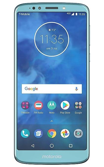 299a994455 Amazon.com  Motorola Moto E5 Plus XT1924-7 T-Mobile Locked 32GB 4G LTE  Android Smartphone - Blue - (Refurbished)  Electronics