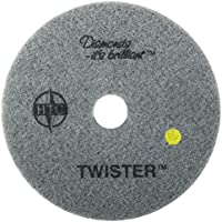 Twister™ Diamond Cleaning System 13 Yellow Floor Pad - 1500 Grit - 2 per case