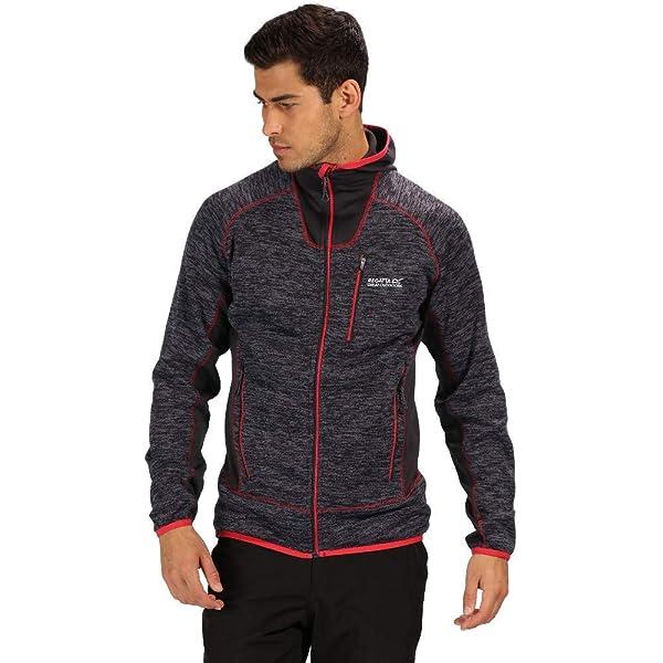 Regatta Mens Paavo Full-zip Heavyweight Hi Pile Knit Effect Fleece