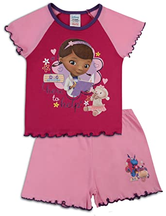 Brilliant Disney Doc Mc Stuffing Purple Pajamas Pjs Girls' Clothing (newborn-5t)