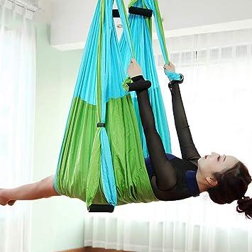 W.zz Pilates Hamaca Voladora Columpio De Yoga Hamaca Aerea ...