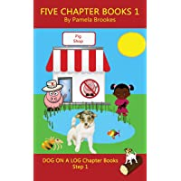 Five Chapter Books 1: Systematic Decodable Books for Phonics Readers and Folks with a Dyslexic Learning Style (DOG ON A LOG Chapter Book Collection)