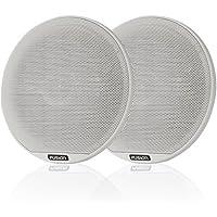 FUSION F65W Signature Series Speaker - 6.5 , 230W Coaxial Classic - White Grill