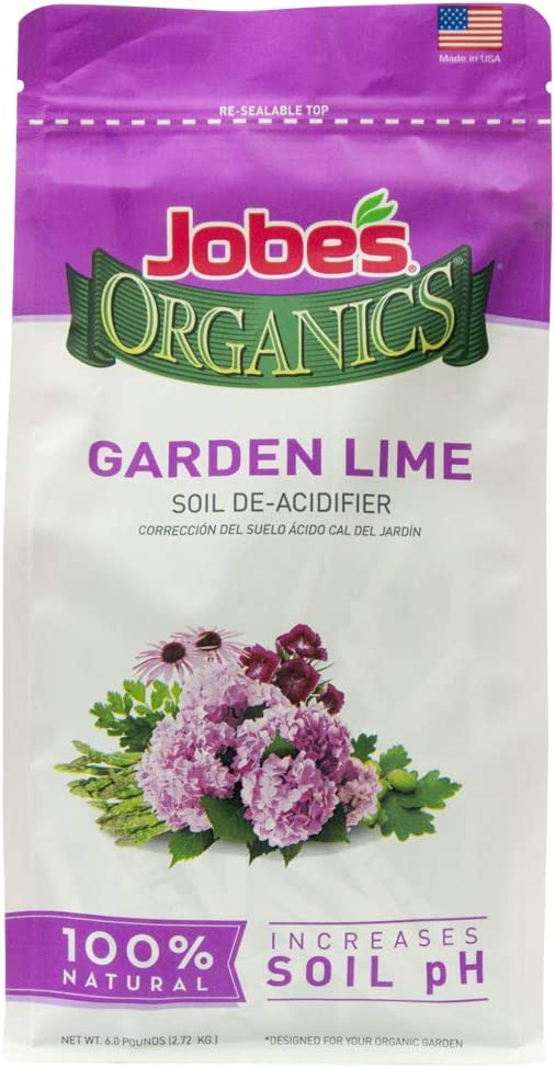 Jobe's Organics Garden Lime Soil Amendment, 6 lb