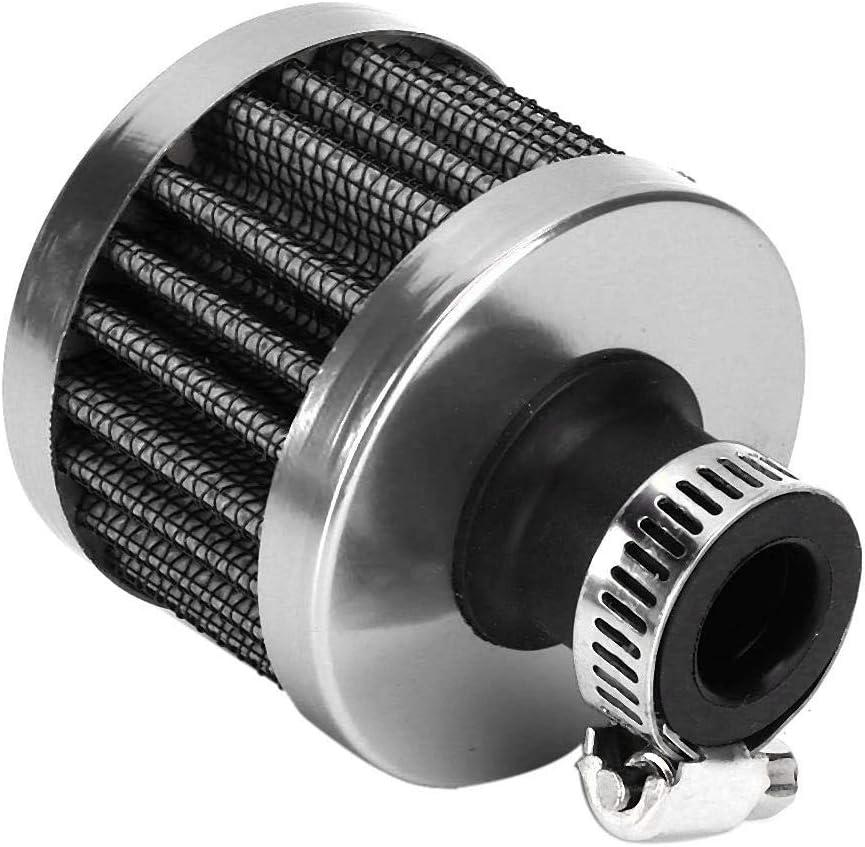 KIMISS 25 mm Universal Mini Lufteinlassfilter Entl/üftung Kurbelgeh/äuse Entl/üftung Autozubeh/ör Blau
