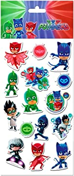 PJ Mask® Stickers Removibles : Amazon.es: Juguetes y juegos