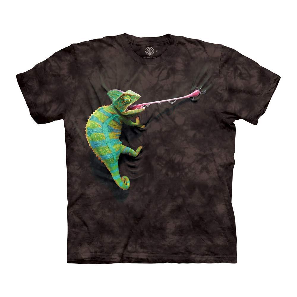 e969065a Amazon.com: The Mountain Climbing Chameleon T-Shirt: Clothing